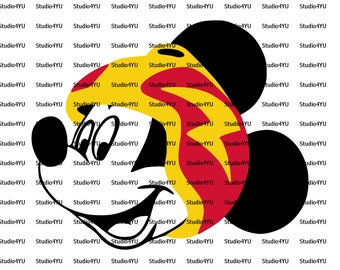 Mickey Mouse Roadster Racers svg only 3 layers disney svg files for cricut svg files for silhouette vector cut file png dxf eps
