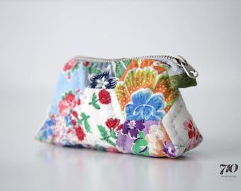Hand Quilted Mini Pouch