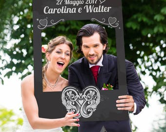 Wedding Photo Booth-Digital Frame