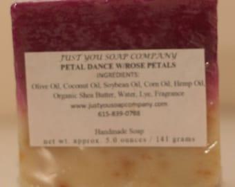 Petal Dance Cold Process Natural Soap