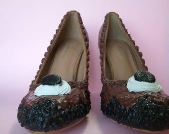 Women's shoes to the OREO CIOK
