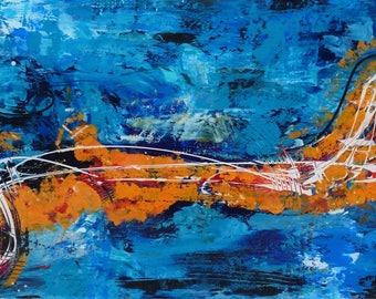 Marlin in the ocean