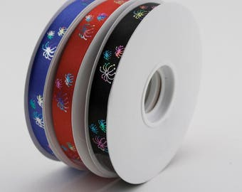 "Fireworks Printed Ribbon-9/16"" x 50 Yards!"