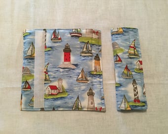 Lighthouse Padded Car Seatbelt covers (Set of 2)