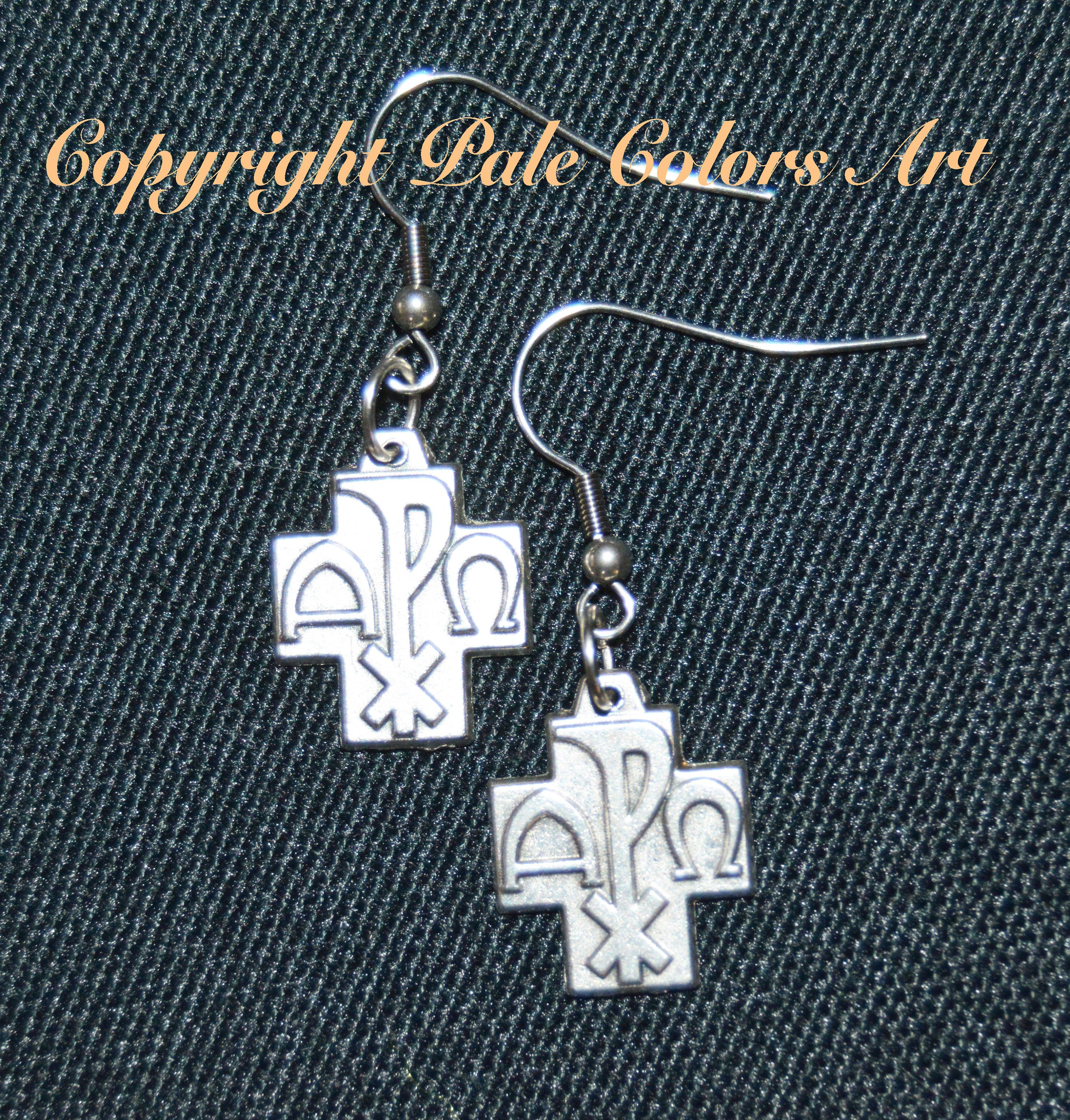 Cross earringsalpha omega earrings stainless steel symbols alpha omega earringscross earrings gallery photo gallery photo gallery photo buycottarizona