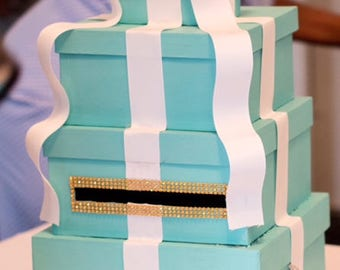 Tiffany Blue Card Boxes