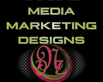 Social Media Marketing Pieces and Designs