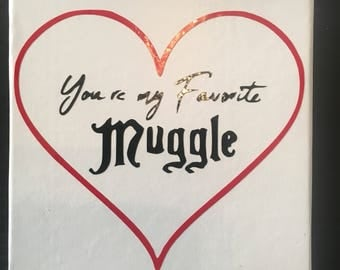 Harry Potter - You're my Favorite Muggle Jewelry Gift Box