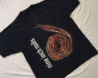 Vintage90' NIN  Nine Inch Nails Further down the spiral shirt