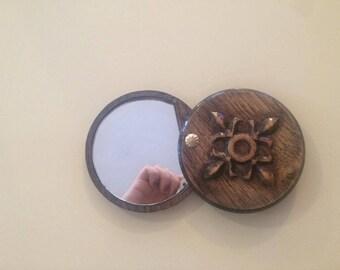Handmade mirror - unique wooden mirror perfect gift vintage mirror woodwork
