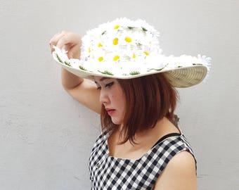 Davika daisy straw hat summer hat