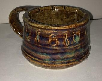 Thrown Mug with Hand-made Handle 15
