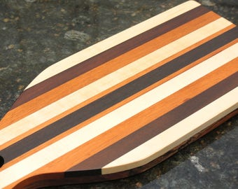 Cutting Board, Serving Board Made From Guitar Necks. Double Sided