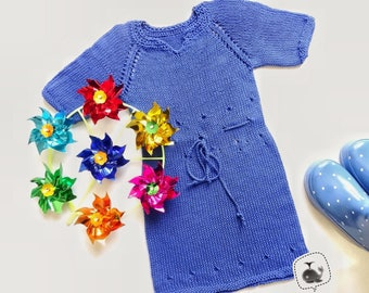 Baby dress knit