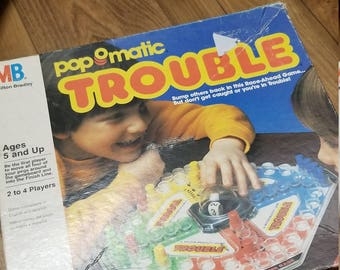 Vintage TROUBLE Game