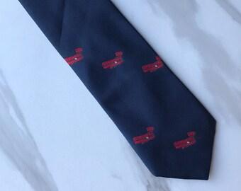 Flying Scotsman Collection Airplane Aviator Men's Tie