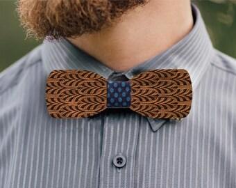 Doldenhorn oak wood bow tie