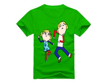 Charlie and Lola T-Shirt for children - available in many sizes and colors