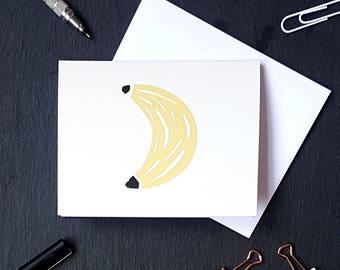 Banana NoteCard