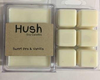 Sweet Pea & Vanilla Soy Melts