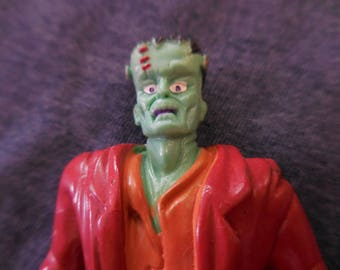 Rare! 1992 Frankenstein pvc Figure Spanish Yolanda Super Monstrous series