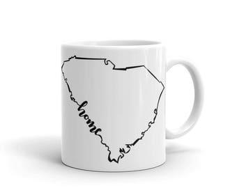 South Carolina Home State - Coffee Mug