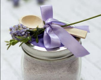 Home made all natural scented bath salts