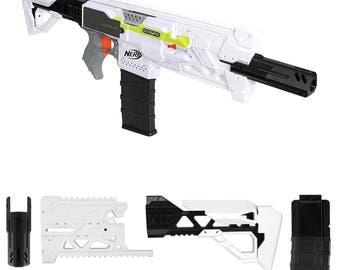 MaLiang 3D Strike 2 Rlife Imitation Kit White 3D Printing for Nerf STRYFE Modify Toy PL173