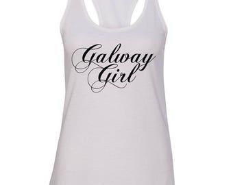 Ed Sheeran / Galway Girl Racerback Tank