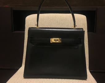 Authentic Bally Vintage Kelly Bag