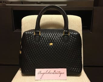 Authentic Bally Vintage Quilted handbag