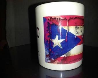 Custom 11oz Puerto Rico mug