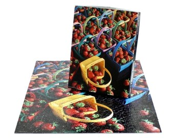 Springbok Puzzle 500 Pieces About a Billion Berries Strawberry Jigsaw Puzzle Hallmark Cards