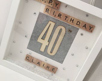 Birthday / Anniversary Box Frames