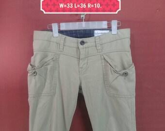 Vintage Antgauge Pant Khakis Pant Casual Pant Brown Colour Size L Comme Des Garcons Pants Yohji Yamamoto Pants