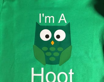 I'm A Hoot shirt