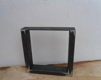 40Bx40H cm table leg table base table base dining table 8 x 4 cm profile