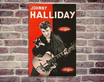 Johnny Halliday poster. Johnny Hallyday poster.