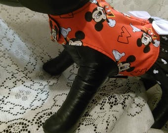 Mickey mouse harness dress