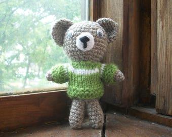 Crochet bear/Вязаный Мишка