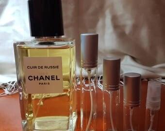CHANEL-Cuir de Russie EDP eau de parfum perfume sample travel size spray