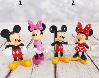 Mickey and Minnie Cake topper - Figurine set