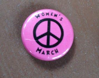 Women's March Button