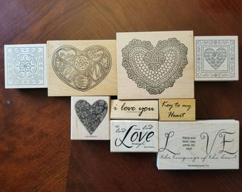 Valentine's Romance Stamps - Lightly Used