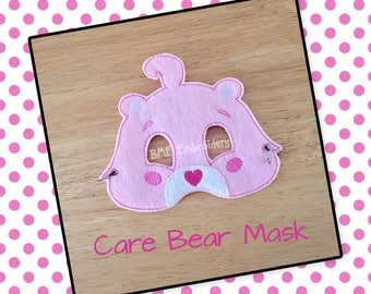 Care Bear Inspired Felt Mask- Child's Dress Up and Imaginary Play- Birthday Party Favor-Photo Shoot-Pretend Play-Theme Party-Care Bear Party