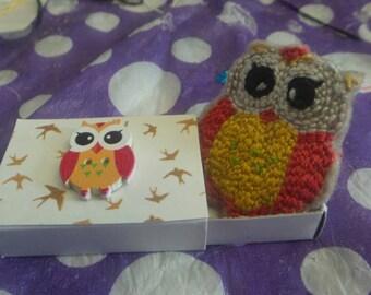 Teeny Tiny Owl Friend