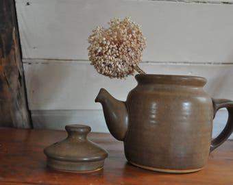 Vintage handmade teapot