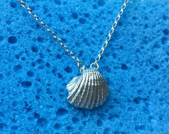 seashell necklace, i love seashell, sterling silver 925 , Custom your Design