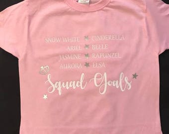 Squad Goal Girls Top