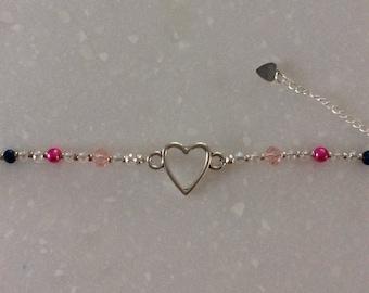Bracelet with Heart for girl